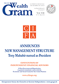 CIFA ANNOUNCES NEW MANAGEMENT STRUCTURE Tony Mahabir named as President - CIFA -- www.cifango.org