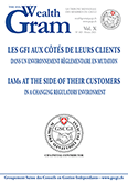 LES GFI AUX CÔTÉS DE LEURS CLIENTS DANS UN ENVIRONNEMENT RÈGLEMENTAIRE EN MUTATION // IAMs AT THE SIDE OF THEIR CUSTOMERS IN A CHANGING REGULATORY ENVIRONMENT - GSCGI