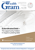 SUBORDINATED DEBT—The opportunity hidden in negative yielding debt - ATLANTICOMNIUM - Membre du GSCGI